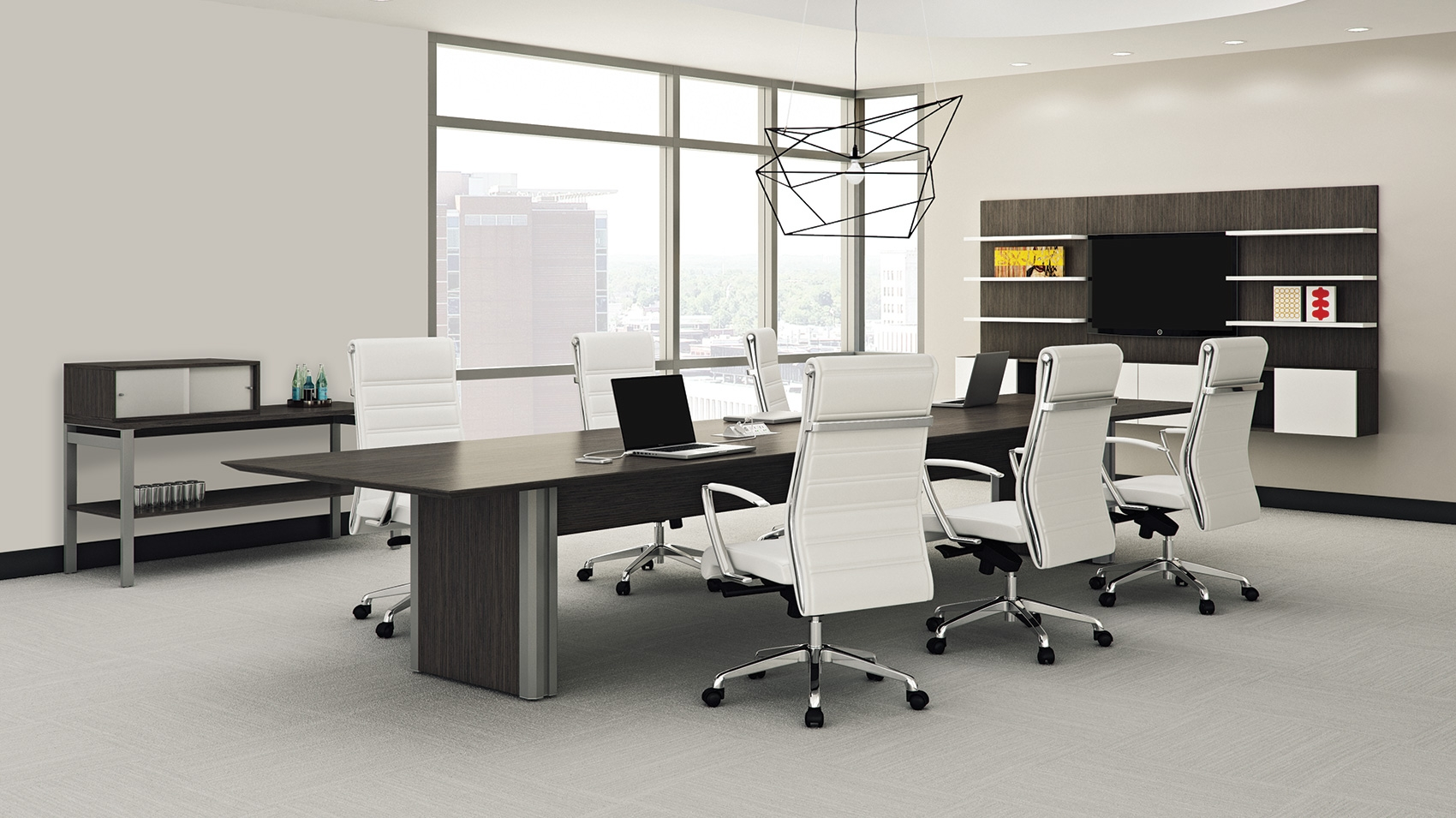 First Office Intermix Pedestal Base OIC Furniture - Conference table pedestal base