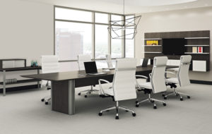 First Office - Intermix Pedestal Base